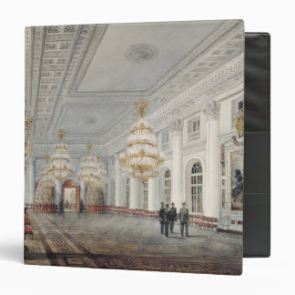 The Great Hall, Winter Palace, St. Petersburg Vinyl Binder