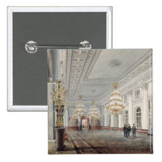 The Great Hall, Winter Palace, St. Petersburg Button