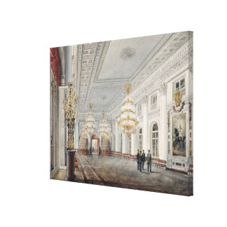 The Great Hall, Winter Palace, St. Petersburg Canvas Print