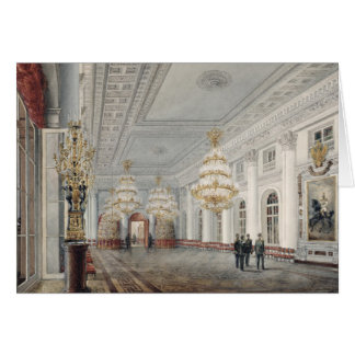 The Great Hall, Winter Palace, St. Petersburg Greeting Cards
