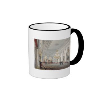The Great Hall, Winter Palace, St. Petersburg Ringer Mug