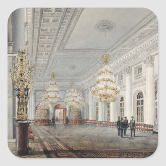 The Great Hall, Winter Palace, St. Petersburg Stickers