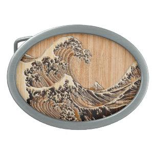 Hokusai Belt Buckles Zazzle