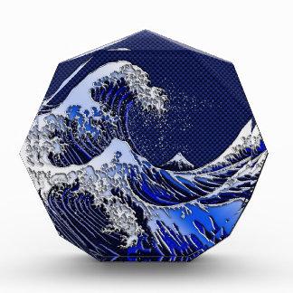 The Great Hokusai Wave Carbon Fiber Style Award