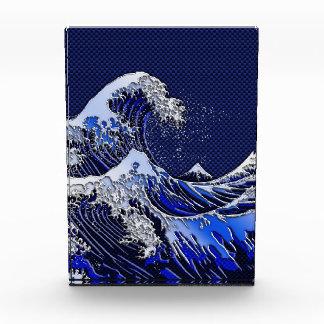 The Great Hokusai Wave Chrome Carbon Looks Award