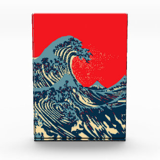 The Great Hokusai Wave in Vibrant Style Award