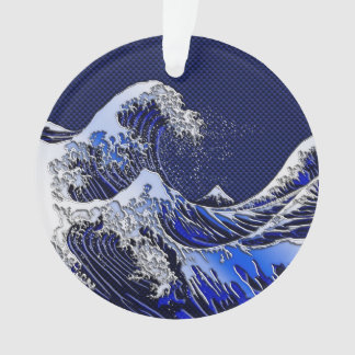 The Great Hokusai Wave Modern styles Ornament
