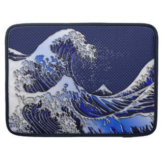 The Great Hokusai Wave Modern styles Sleeve For MacBooks