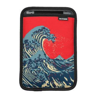 The Great Hokusai Wave Pop Decor Sleeve For iPad Mini