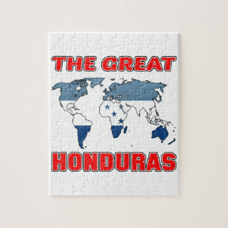 The Great HONDURAS. Puzzle