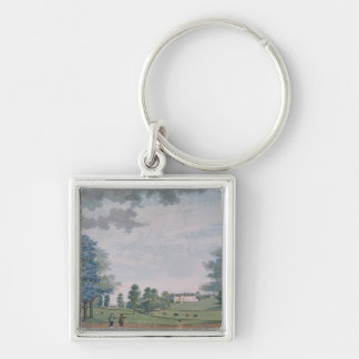 The Great House and Park at Chawton, c.1780 Keychain