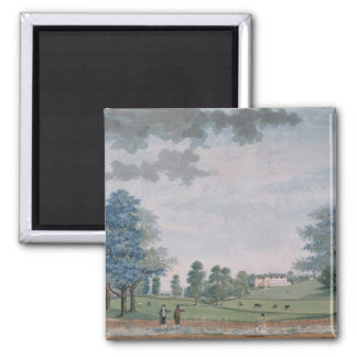The Great House and Park at Chawton, c.1780 Magnet