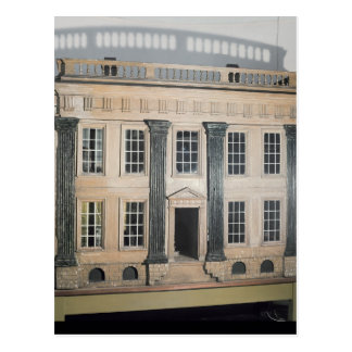 The Great House' English doll's house Postcard