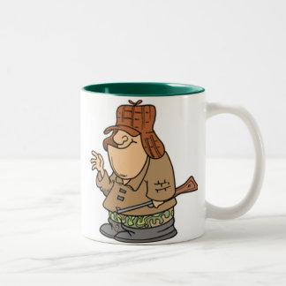 The Great Hunter Two-Tone Coffee Mug