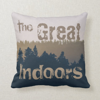 The Great Indoors Throw Pillow