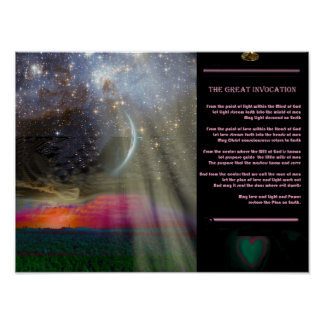 The Great Invocation Poster