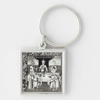 The Great Khan's feast Key Chain