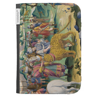 The Great King of the Parthians Hunts with his Tam Kindle Folio Cases