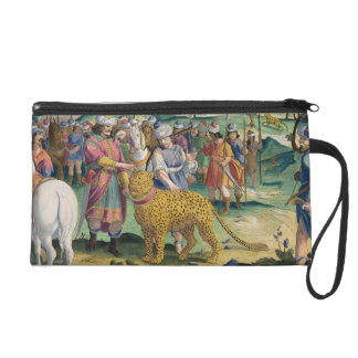 The Great King of the Parthians Hunts with his Tam Wristlet Purse