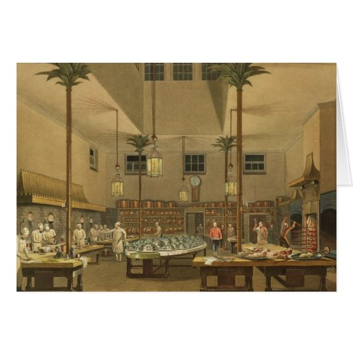 The Great Kitchen, from 'Views Greeting Cards