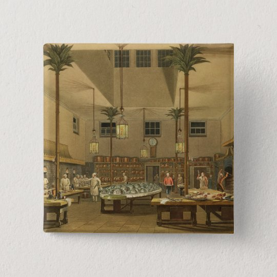 The Great Kitchen, from 'Views Pinback Button