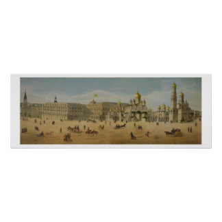 The Great Kremlin Palace and the Cathedrals of the Poster