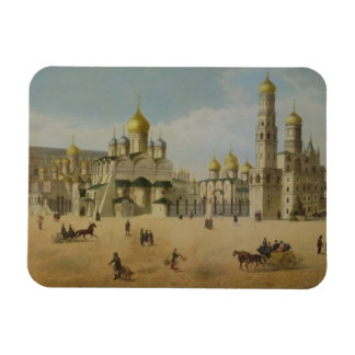 The Great Kremlin Palace and the Cathedrals of the Vinyl Magnets