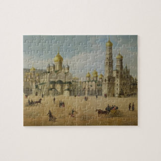 The Great Kremlin Palace and the Cathedrals of the Puzzle
