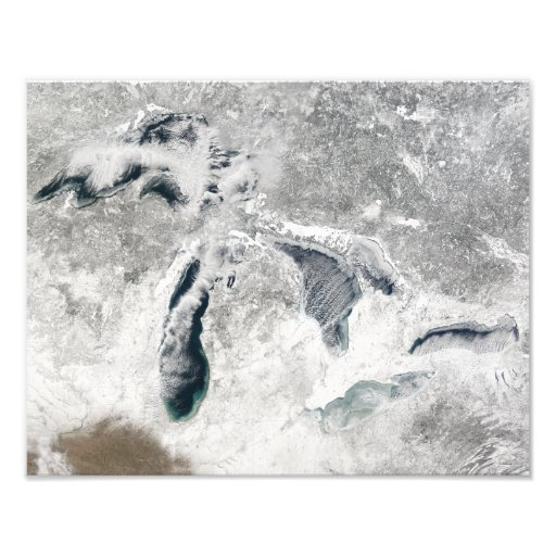 The Great Lakes 2 Photographic Print