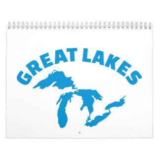 The Great Lakes Calendar