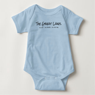 The Great Lakes - humor Baby Bodysuit