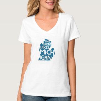 The Great Lakes Michigan Shirt