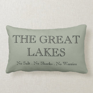 The Great Lakes Pillow