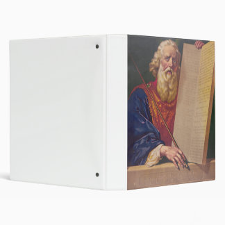 The Great Lawgiver Moses with the Ten Commandments Binder