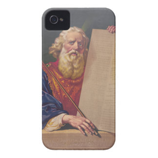 The Great Lawgiver Moses with the Ten Commandments Case-Mate iPhone 4 Cases