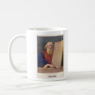 The Great Lawgiver Moses with the Ten Commandments Coffee Mug