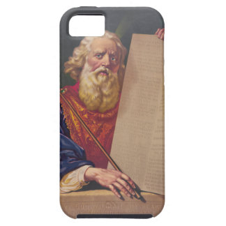The Great Lawgiver Moses with the Ten Commandments iPhone SE/5/5s Case