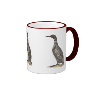 The Great Loon	(Colymbus glacialis) Coffee Mugs