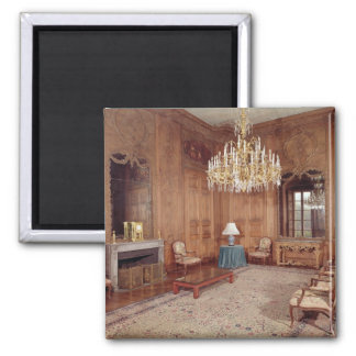 The Great Lounge with woodwork 2 Inch Square Magnet