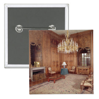 The Great Lounge with woodwork 2 Inch Square Button