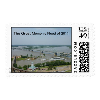 The Great Memphis Flood of 2011 Stamps
