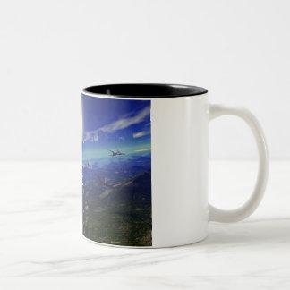 The Great Migration Coffee Cup Two-Tone Coffee Mug