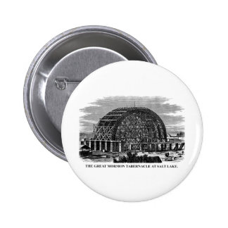 The Great Mormon Tabernacle at Salt Lake 2 Inch Round Button