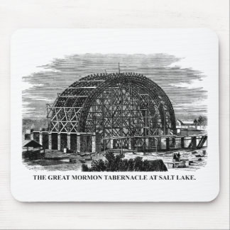 The Great Mormon Tabernacle at Salt Lake Mouse Pad