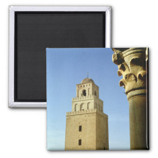 The Great Mosque, Aghlabid, 836-875 AD 2 Inch Square Magnet