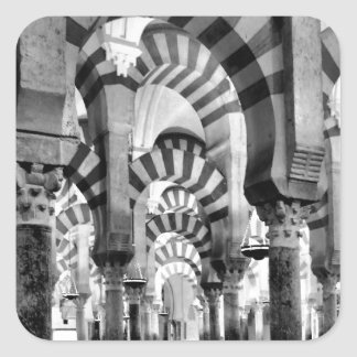 The Great Mosque of Cordoba Square Sticker