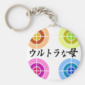 The Great Mother Basic Round Button Keychain