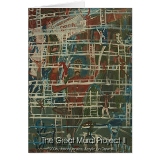 the great mural project II Card
