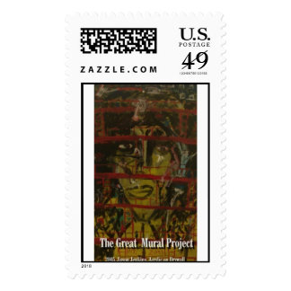 the great mural project  postage stamp