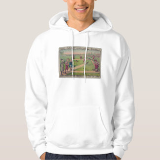 The great national game. Last match of the season Hoodie